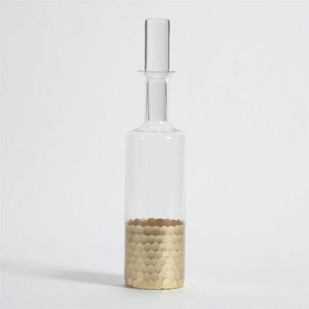 $42.00 Gold Leaf Decanter
