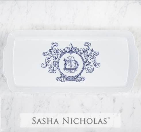 $168.00 Hostess Platter with Monogram
