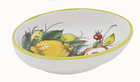 "$40.00 Oval Dipping Bowl 4"" x 5.5"" x 1.5"""