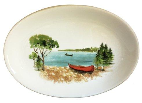 "$105.00 Canoe Oval Platter 12"" x 15"" x 2"""