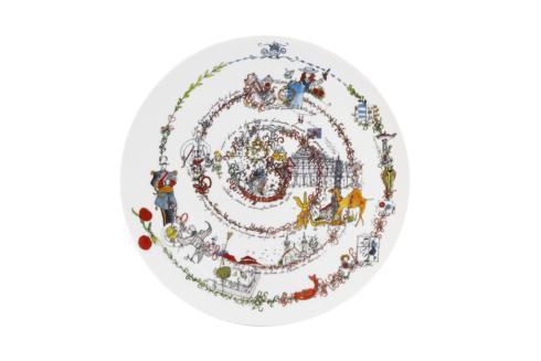 $130.00 Plate The Chronology 33 Cm