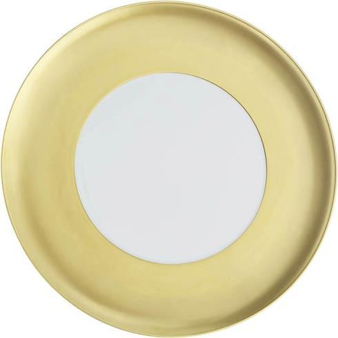 $209.00 Charger Plate   (wide gold band)