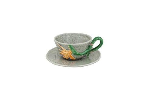 $39.00 Tea Cup And Saucer Bird Of Paradise