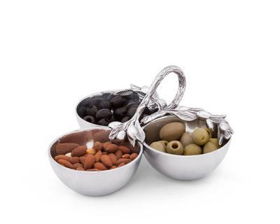 $60.00 3 Serving Bowl - Olive