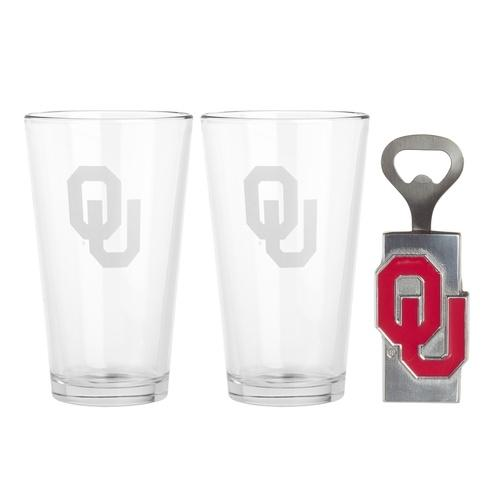 $40.00 Pub Glass/Opener Set