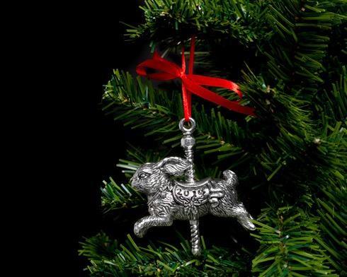 $29.00 2014 Bunny Carousel Ornament