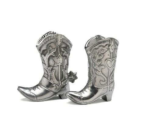 $49.00 Cowboy Boot Salt & Pepper Set