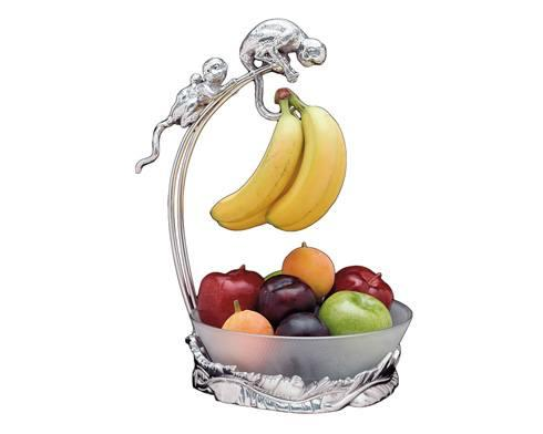 $125.00 Monkey Banana Holder w/Bowl