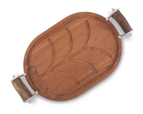 $262.00 Antler Carving Board