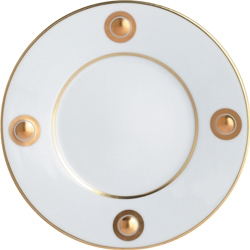 $100.00 Ithaque Gold Dinner Plate