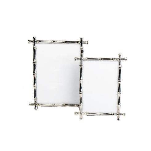 $45.00 Silver Bamboo Frame 5x7