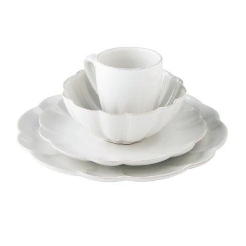 $36.00 Hartland Scallop Stone Dinner Plate