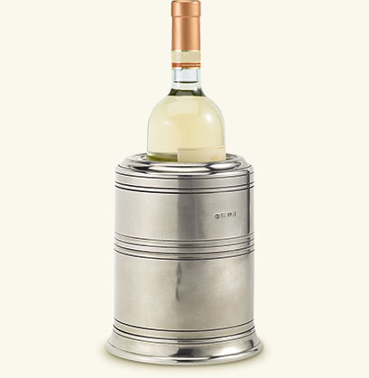 $375.00 Pewter Wine Cooler with Insert