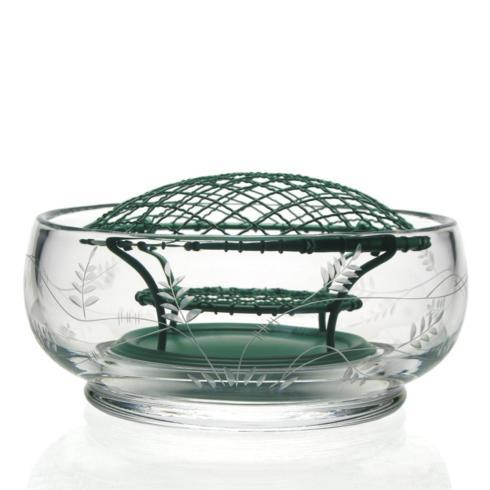 $150.00 Wisteria Rose Bowl with Wire