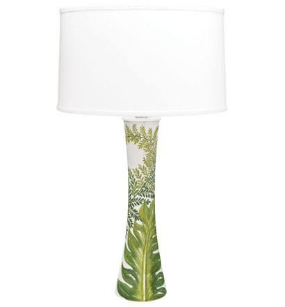 $500.00 Painted Palms Lamp