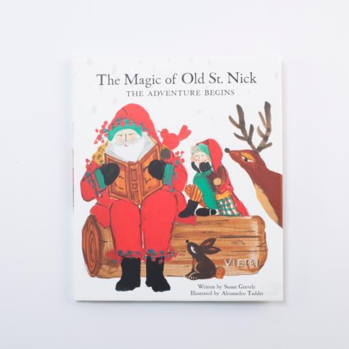 $19.95 The Magic of Old St. Nick: The Adventure Begins Book