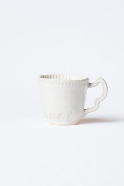 $46.00 Linen Leaf Mug