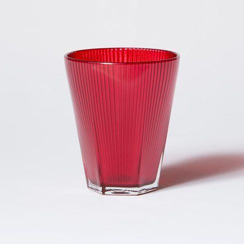 $10.00 Cranberry Short Tumbler