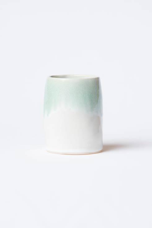 $78.00 Aqua Round Vase