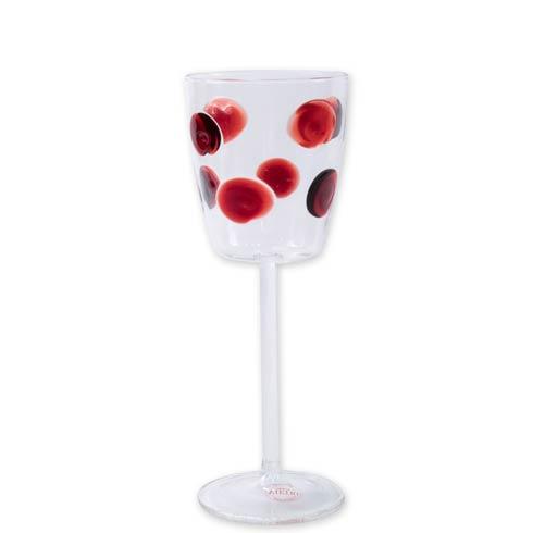 $64.00 Wine Glass - Red