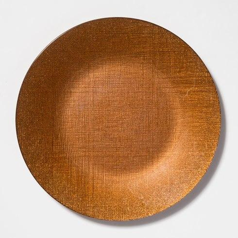 $25.00 Copper Service Plate/Charger
