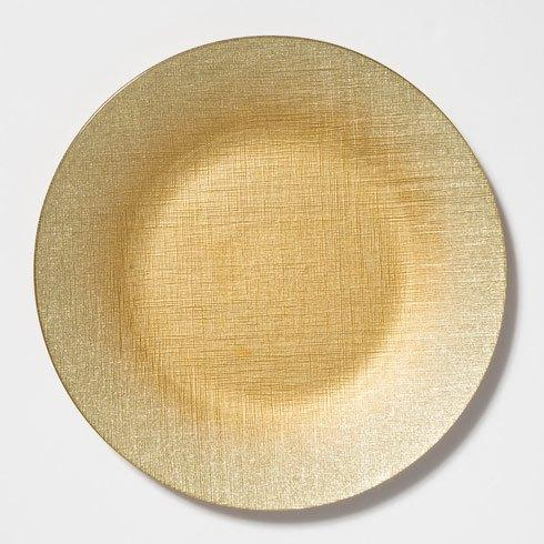 $25.00 Gold Service Plate/Charger