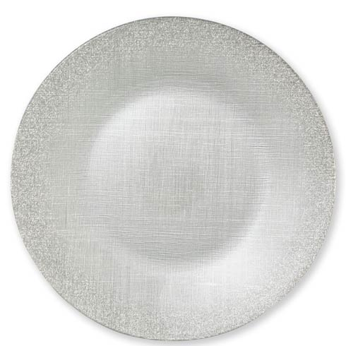$25.00 Silver Service Plate/Charger