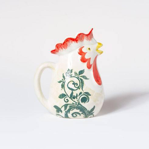 $65.00 Rooster Small Pitcher