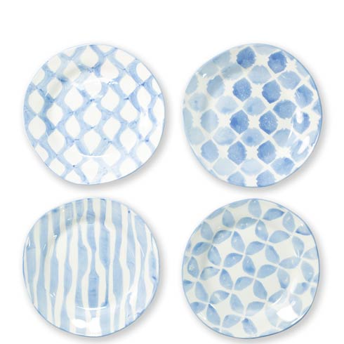 $212.00 Assorted Salad Plates - Set of 4