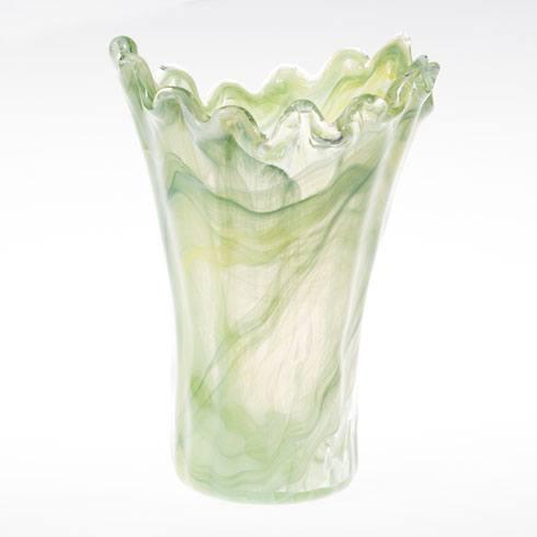 $74.00 Medium Green Vase