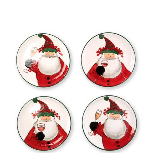 $128.00 Cocktail Plates - Set of 4