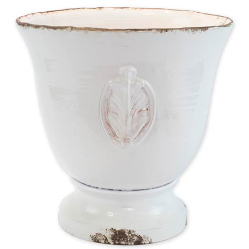 $495.00 Large Footed Planter With Emblem
