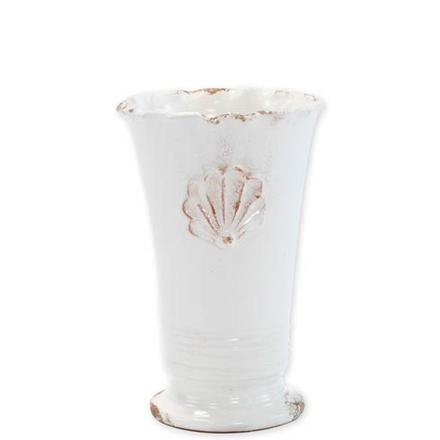 $66.00 Small Ruffle Vase With Emblem