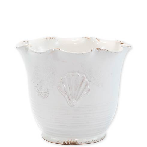 $180.00 Small Scallop Planter With Emblem