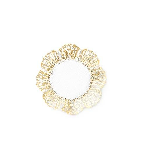 $22.00 Gold Canape Plate