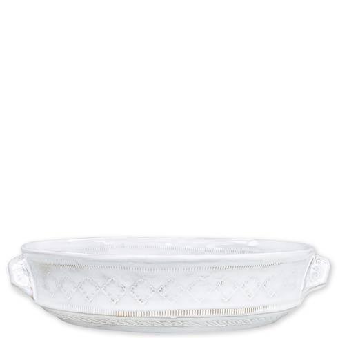 $90.00 White Medium Round Baking Dish