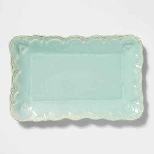 $150.00 Lace Small Rectangular Platter
