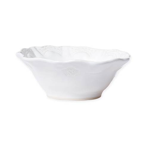 $44.00 White Lace Cereal Bowl