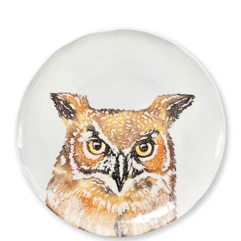$44.00 Owl Salad Plate