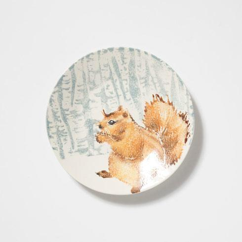$126.00 Squirrel Small Round Platter