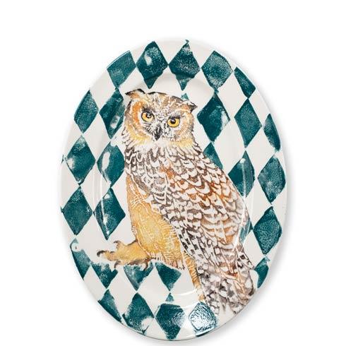 $189.00 Owl Oval Platter