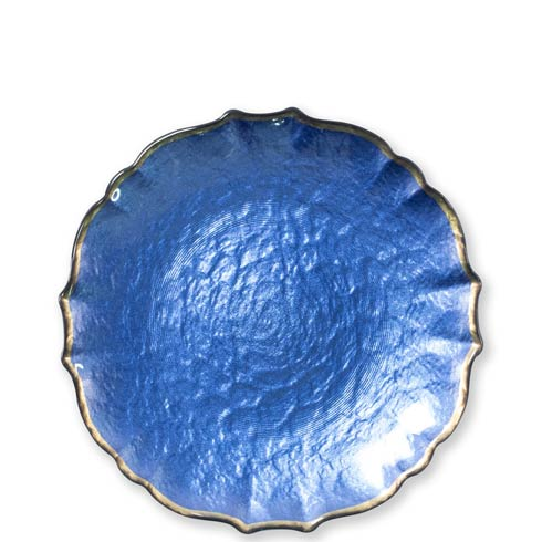 $22.00 Cobalt Salad Plate