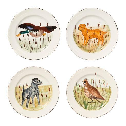 $220.00 Assorted Dinner Plates - Set of 4