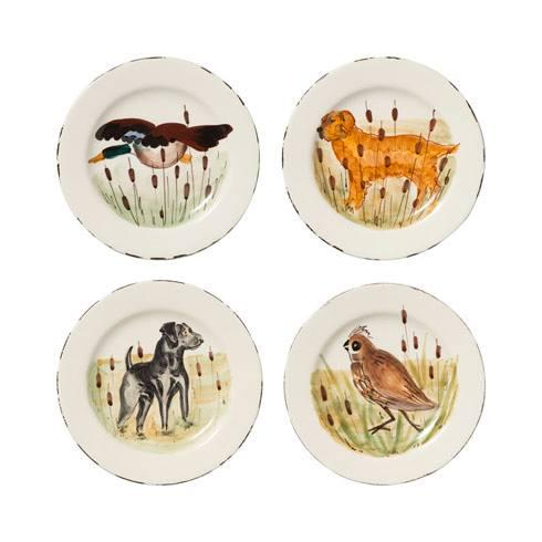 $208.00 Assorted Salad Plates - Set of 4