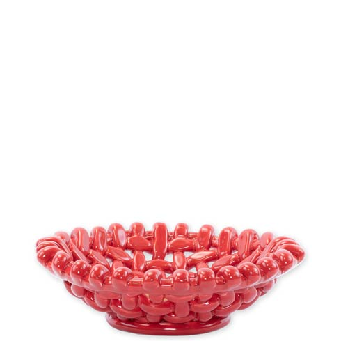 $80.00 Red Small Basket