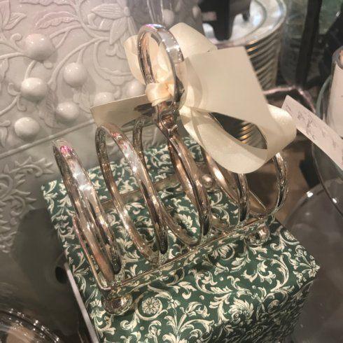 $190.00 Hotel Plate Toast/Letter Rack