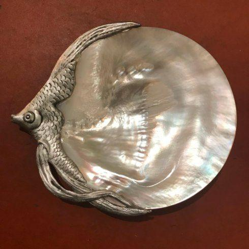 $110.00 Mother of Pearl Fish Plate