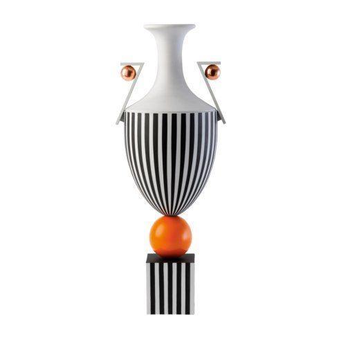 $15,500.00 Tall Vase on Orange Sphere 19.7 (LTD 15)