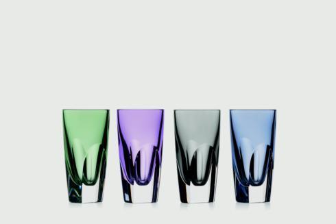 $225.00 Shot Glass Set/4 Mixed Colors