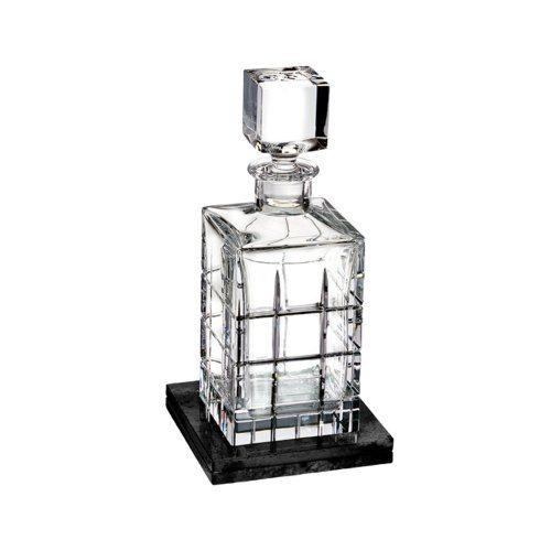 $325.00 Decanter Square (With Marble Coaster)
